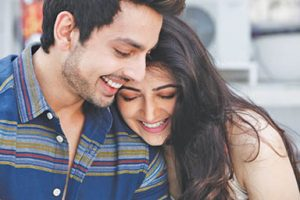 A still from Cyrus' Bollywood debut as producer, 'Sweetie Desai Weds NRI', from his Production House, Grand Motion Pictures, starring Zoya Afroz and Himansh Kohli.