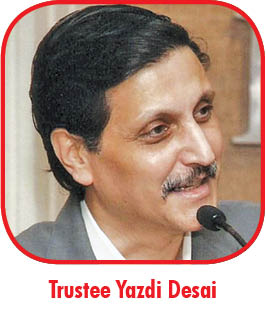 Trustee Yazdi Desai